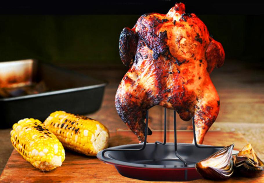 подставка для курицы гриль в духовке