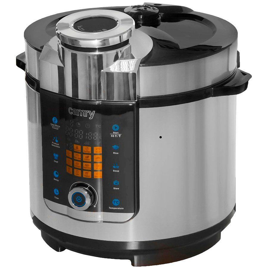 Мультиварка-скороварка Camry CR 6408 - 6 л
