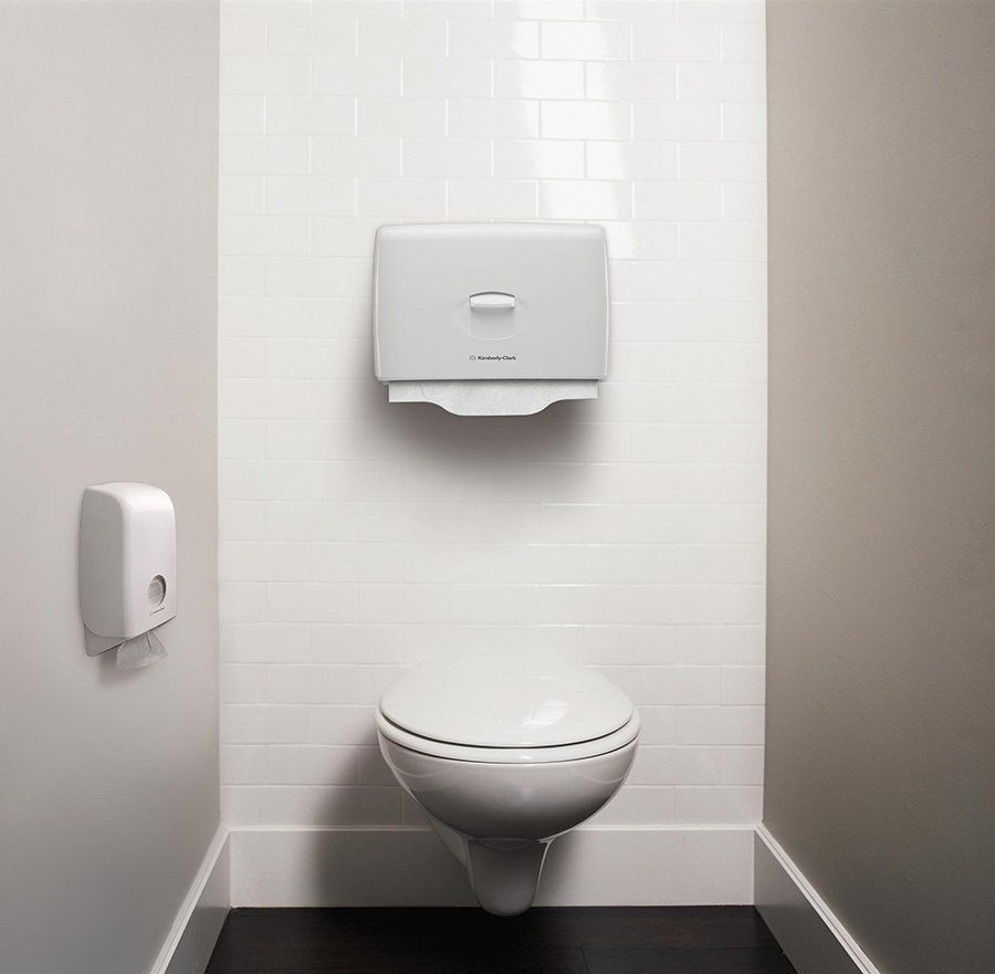 выбираем диспенсер для туалетных накладок
