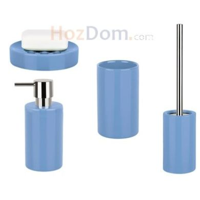 0dbb4e25227e → Набор аксессуаров для ванной Spirella Tube (голубой), цена: 499 ...