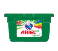 Капсулы для стирки Ariel PODS Color 12 x 27 г (4015600949747)