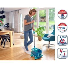 Комплект для уборки на колесиках Leifheit CLEAN TWIST Disc Mop Ergo Mobile 52102