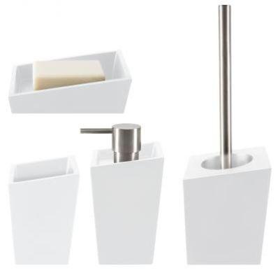 7eb1b901a53a → Набор аксессуаров для ванной Spirella YOSHI - белый, цена: 1 230 ...
