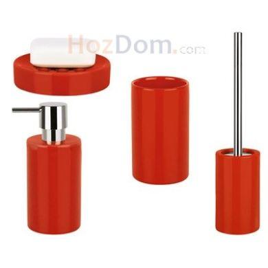 a4a35251984e → Набор аксессуаров для ванной Spirella Tube (красный), цена: 499 ...