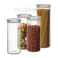 выбрать баночки для сыпучих продуктов