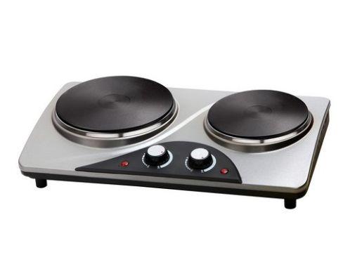 Электроплита настольная двухконфорочная Trisa Heating plate 7761.7512