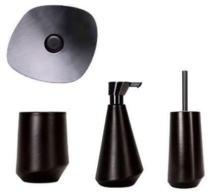 56f21c0369a3 → Набор аксессуаров для ванной Spirella ESSOS - коричневый, цена: 5 ...