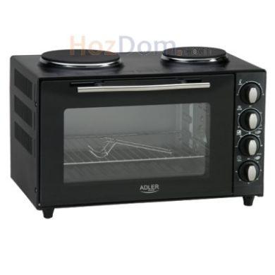 Электрическая печь с плитой Adler AD 6011