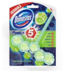 Туалетный блок DOMESTOS Power 5 Свежесть лайма 55гр (67217600)