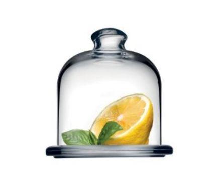 9acb4345 → Лимонница с крышкой BASIC Pasabahce 98397 - 10 см, стекло, цена ...