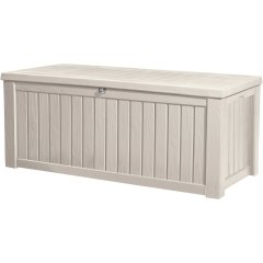 Садовый сундук Keter Rockwood Storage Box 17197729 - белый, 570 л