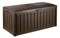 Сундук для белья KETER GLENWOOD STORAGE BOX 17193522 390 L - коричневый